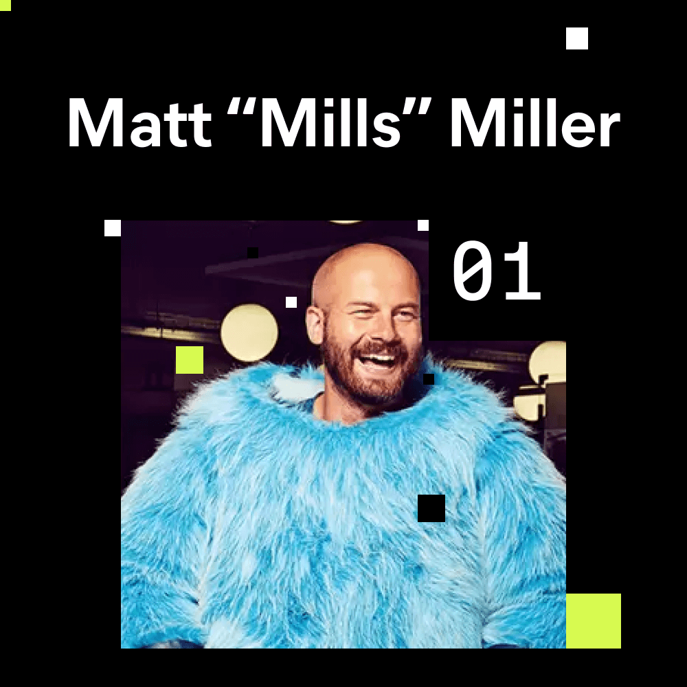 Mills (Co-Founder of Ustwo) portrait photo for episode number 1 of the Shaping Chaos Podcast.